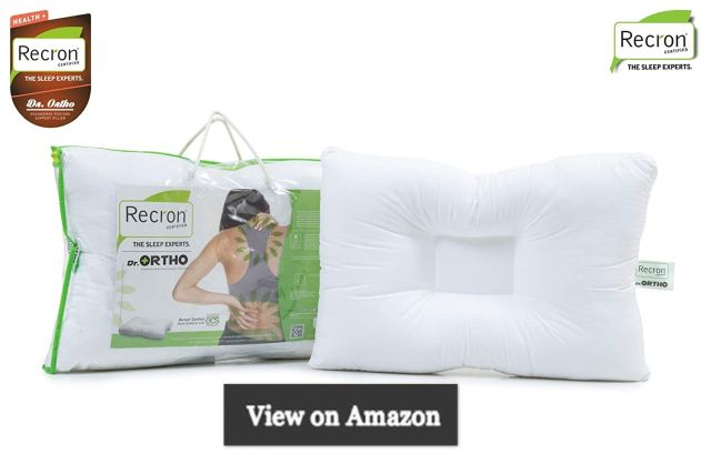 Recron Certified Dr. Ortho Fibre Pillow